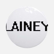 Lainey Digital Name Ornament (Round)