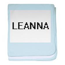 Leanna Digital Name baby blanket
