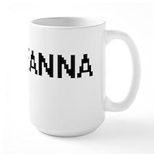 Leanna Digital Name Mugs