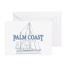 Palm Coast Florida - Greeting Cards (Pk of 20)