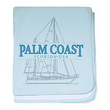 Palm Coast Florida - baby blanket
