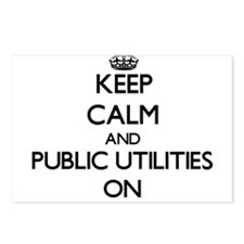 Keep Calm and Public Util Postcards (Package of 8)