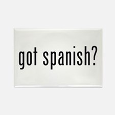 got spanish? Rectangle Magnet