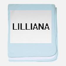 Lilliana Digital Name baby blanket