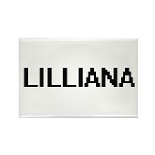 Lilliana Digital Name Magnets