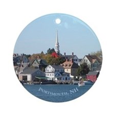 Portsmouth NH Ornament (Round)