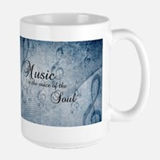 Music voice of the soul Mugs