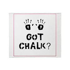 Got Chalk? Throw Blanket