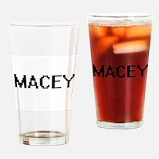 Macey Digital Name Drinking Glass