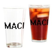 Maci Digital Name Drinking Glass