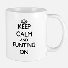 Keep Calm and Punting ON Mugs