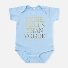 More Issues Than Vogue - Faux Gold Foil Body Suit