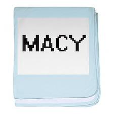 Macy Digital Name baby blanket