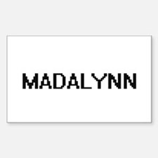 Madalynn Digital Name Decal
