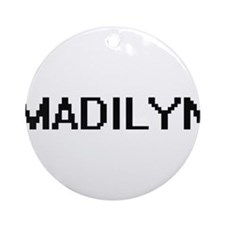 Madilyn Digital Name Ornament (Round)