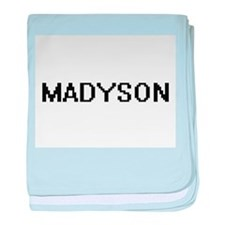 Madyson Digital Name baby blanket