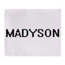 Madyson Digital Name Throw Blanket