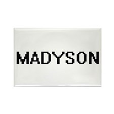 Madyson Digital Name Magnets