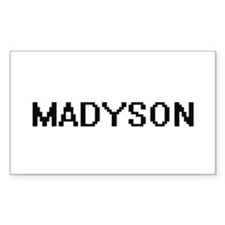 Madyson Digital Name Decal