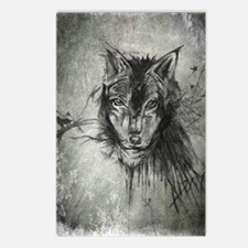 wolf Alpha Omega Postcards (Package of 8)