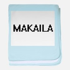 Makaila Digital Name baby blanket