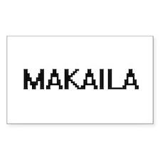 Makaila Digital Name Decal