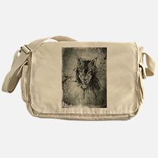 wolf Alpha Omega Messenger Bag