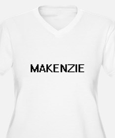 Makenzie Digital Name Plus Size T-Shirt