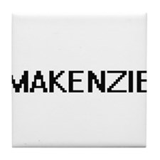 Makenzie Digital Name Tile Coaster