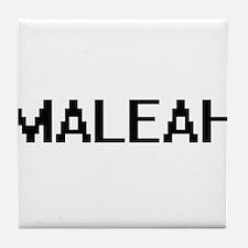 Maleah Digital Name Tile Coaster