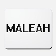 Maleah Digital Name Mousepad
