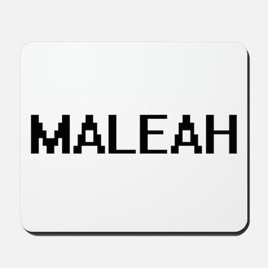 Maleah Digital Name Mousepad
