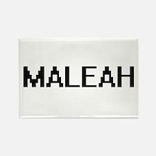 Maleah Digital Name Magnets