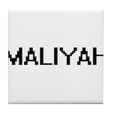 Maliyah Digital Name Tile Coaster