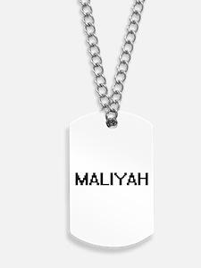 Maliyah Digital Name Dog Tags