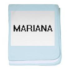 Mariana Digital Name baby blanket