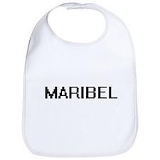Maribel Digital Name Bib