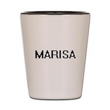 Marisa Digital Name Shot Glass