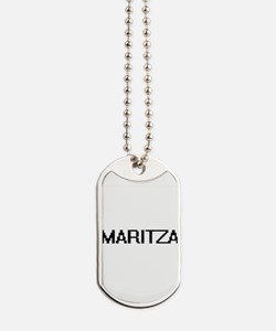 Maritza Digital Name Dog Tags