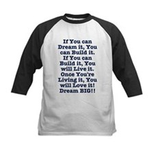 Dream, Build, Live, Love Baseball Jersey
