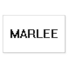 Marlee Digital Name Decal