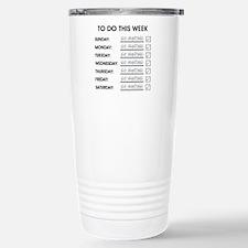 TO DO THIS WEEK Travel Mug