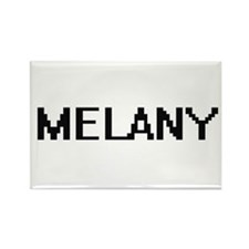 Melany Digital Name Magnets