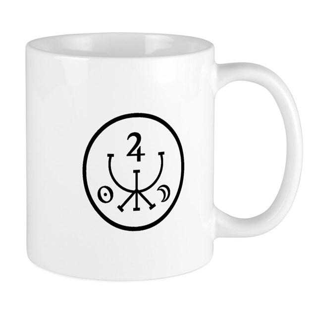 Attract money prosperity magick sigil mug by artsmagick - What colour attracts money ...