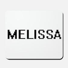 Melissa Digital Name Mousepad
