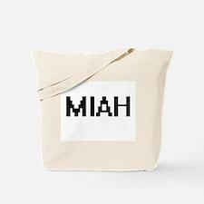 Miah Digital Name Tote Bag