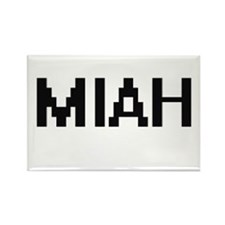 Miah Digital Name Magnets