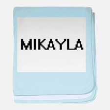 Mikayla Digital Name baby blanket