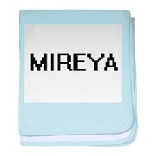 Mireya Digital Name baby blanket