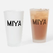 Miya Digital Name Drinking Glass